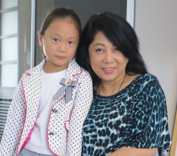 Beloved wife and daughter