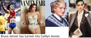 Caitlyn Jenner - if Bruce Jenner has received Jesus