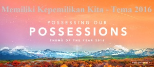 Possessing our Possessions 2016